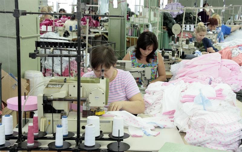 Фабрика одежды для новорожденного